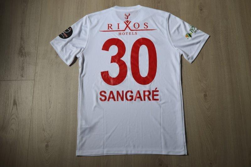 Antalyaspor 2018/19 Away, Nr. 30 Sangaré (Matchworn)