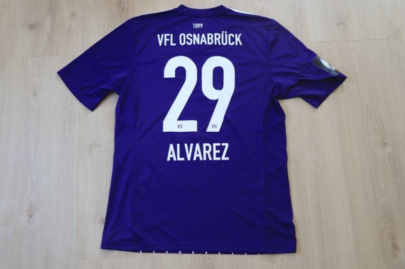 VfL Osnabrück 2015/16 Heim, Nr. 29 Alvarez (Matchworn)