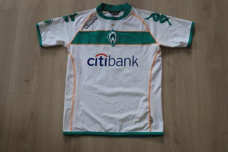 SV Werder Bremen 08-09 Heim, Nr. 23 Menga (Matchworn)