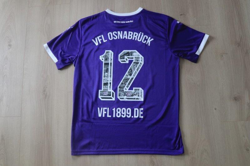 VfL Osnabrück 2020/21 Heim, Nr. 12 Sonderbeflockung