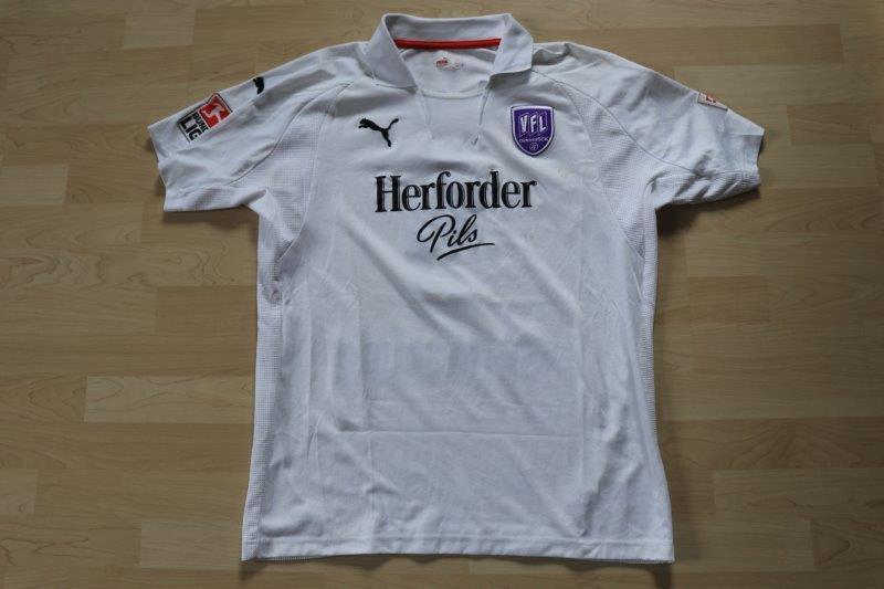 VfL Osnabrück 2007/08 Away, Nr. 5 de Wit (Matchworn)