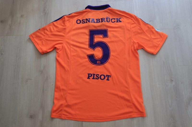 VfL Osnabrück 2013/14 Third, Nr. 5 Pisot (Matchworn)