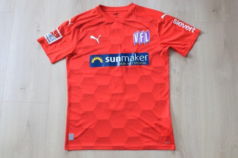 VfL Osnabrück 2020/21 Torwart signiert, Nr. 1 Nicolas (Matchworn)