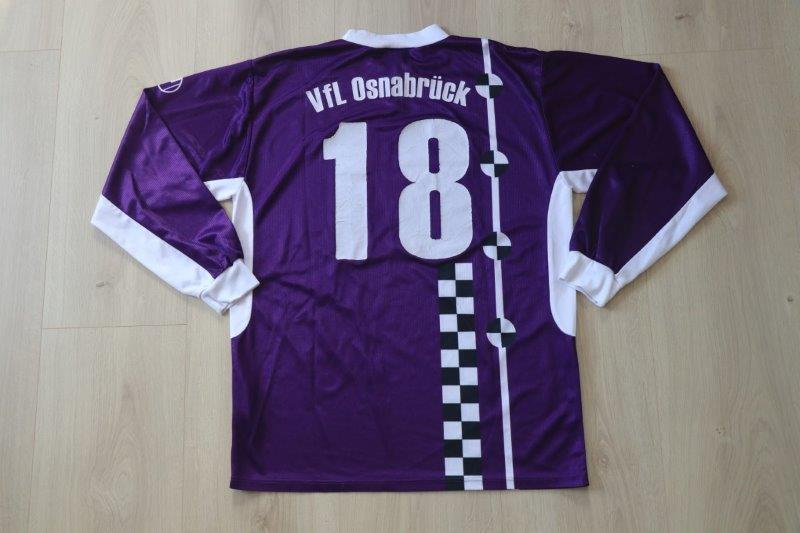 VfL Osnabrück 2003/04 Heim Langarm, VfL Osnabrück II, Nr. 18 (Matchworn)