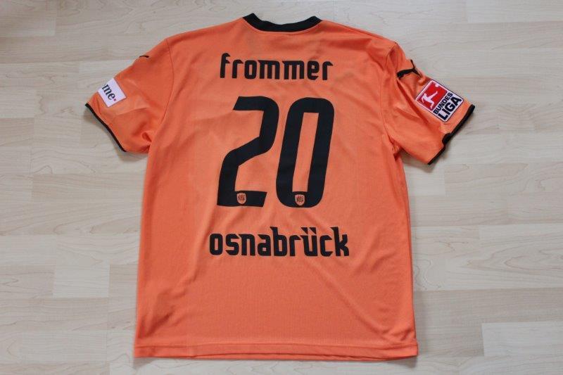 VfL Osnabrück 2007/08 Third, Nr. 20 Nico Frommer (Matchworn)