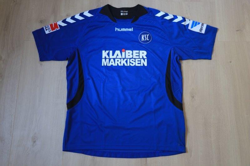 Karlsruher SC 13-14 Heim, Nr. 6 Mauersberger (Matchworn)