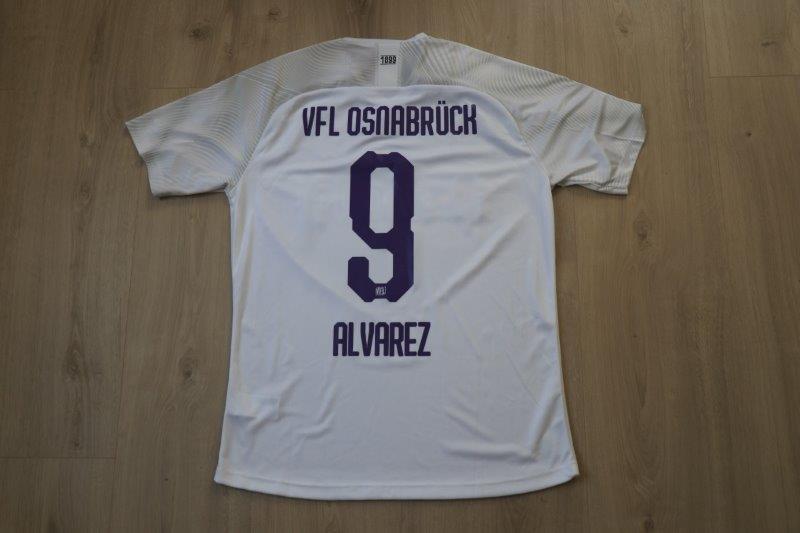 VfL Osnabrück 2019/20 Away, Nr. 9 Alvarez