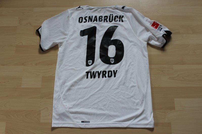 VfL Osnabrück 2010/11 Away, Nr. 16 Twyrdy