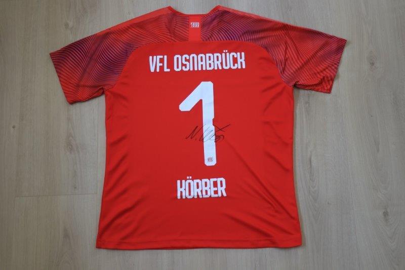 VfL Osnabrück 19/20 Torwart signiert, Nr. 1 Körber