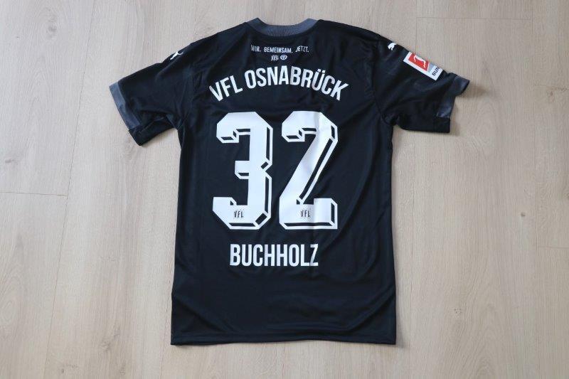 """VfL Osnabrück 2020/21 Sondertrikot Torwart """"Bremer Brücke"""", Nr. 32 Buchholz (Nr. 4 von 100)"""