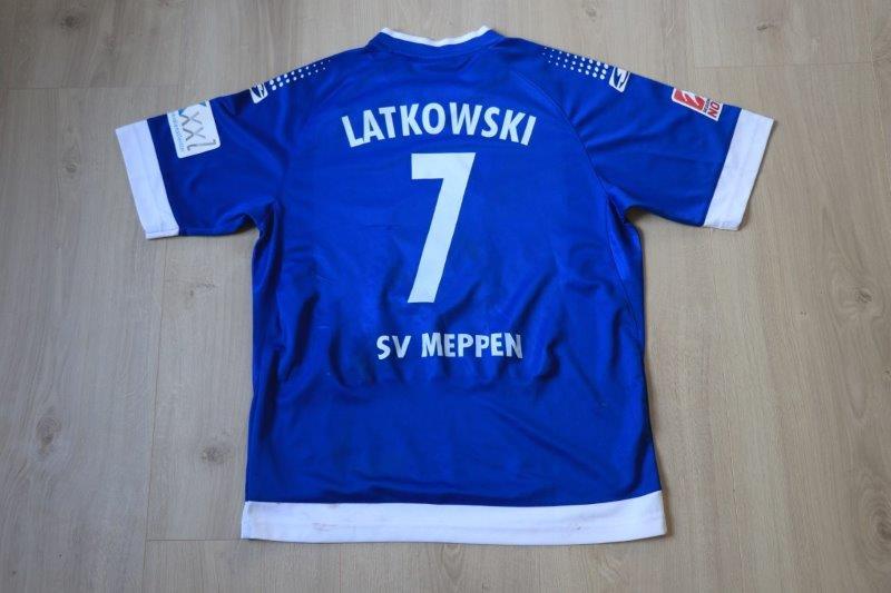 SV Meppen 2014/15 Heim, Nr. 7 Latkowski (Matchworn)