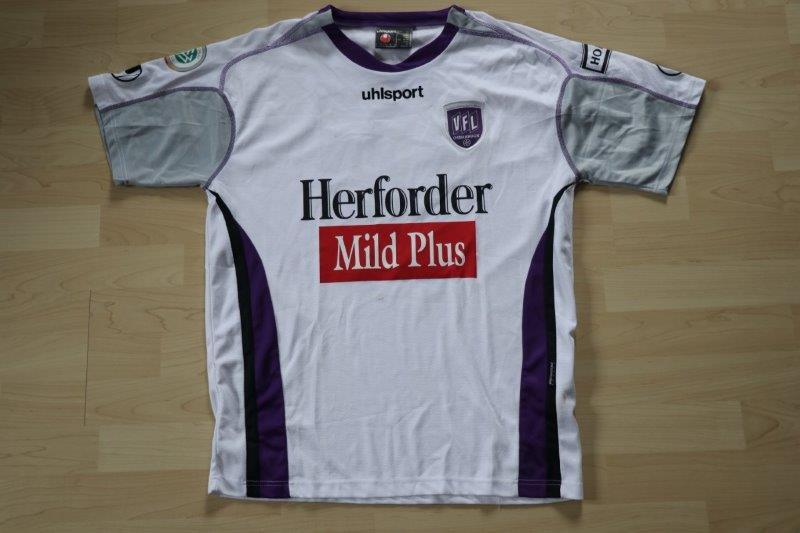 VfL Osnabrück 2005/06 Away Herforder Mild Plus, Nr. 19 Mäscher (Matchworn)