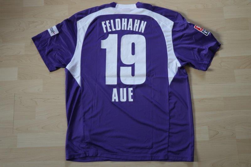 FC Erzgebirge Aue 07-08 Heim, Nr. 19 Feldhahn (Matchworn gg. Köln 09.11.07)