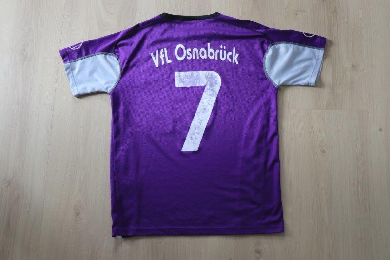 VfL Osnabrück 2005/06 Heim, Nr. 7 (TravelCheck Beflockung)