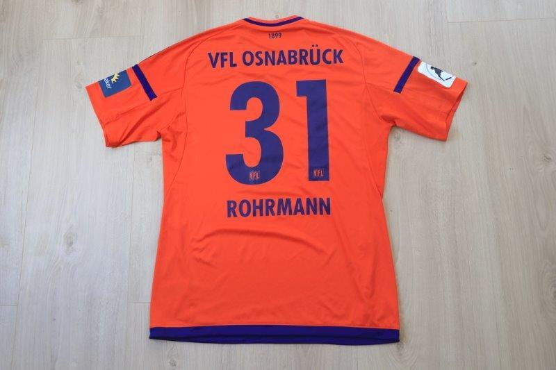 VfL Osnabrück 2017/18 Torwart, Nr. 31 Rohrmann (Matchvorbereitet)