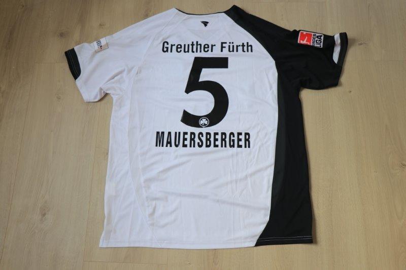 SpVgg Greuther Fürth 2007/08 Ausweich, Nr. 5 Mauersberger (Matchvorbereitet)