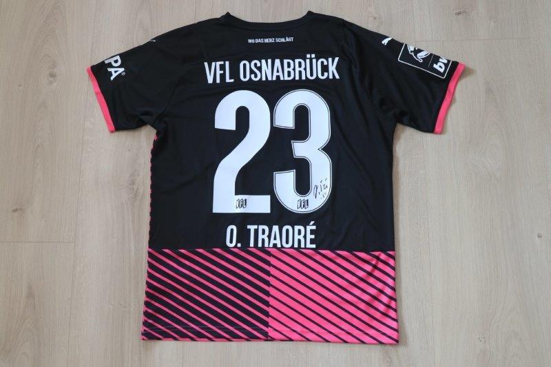 VfL Osnabrück 2021/22 Away, Nr. 23 Traoré (getragen beim Fotoshooting für den Fanshop)