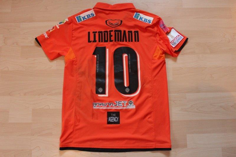Nakhon Ratchasima FC 2016 Heim, Nr. 10 Lindemann (Matchworn)