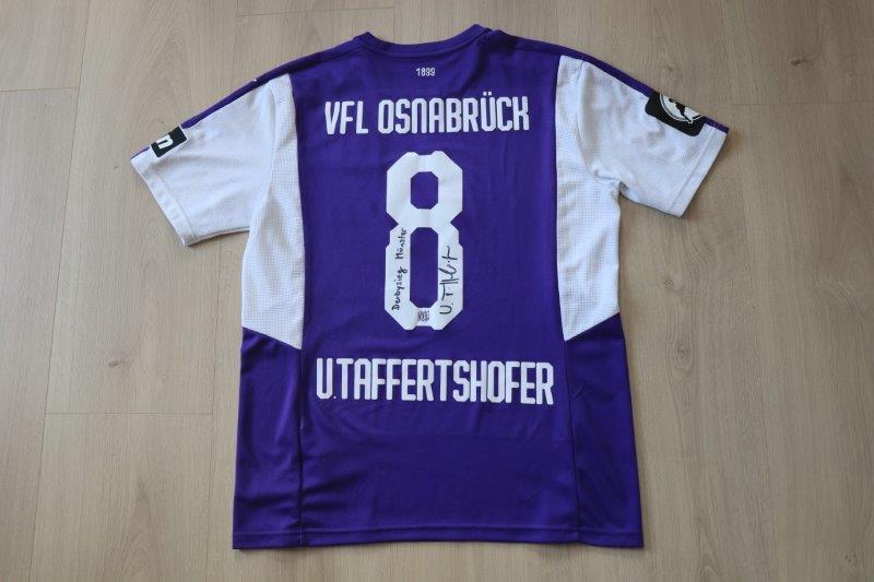 VfL Osnabrück 2018/19 Heim, Nr. 8 Taffertshofer (Derby-Matchworn gg. Münster 25.08.18)