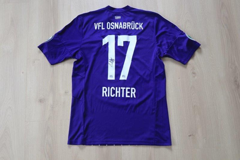 VfL Osnabrück 2015/16 Heim DFB-Pokal, Nr. 17 Richter (Matchvorbereitet gg. RB Leipzig 10.08.15)