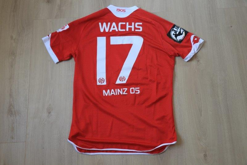FSV Mainz 05 II 2015/16 Heim, Nr. 17 Wachs (Matchworn/-vorbereitet)