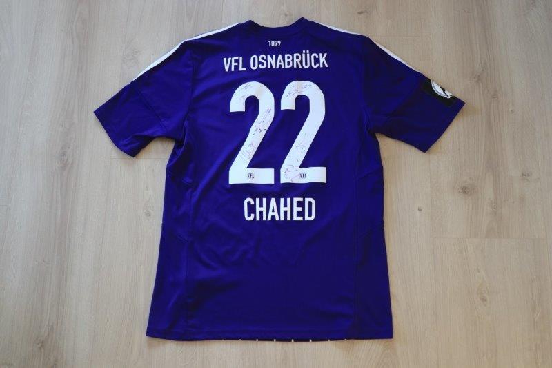 VfL Osnabrück 2015/16 Heim, Nr. 22 Chahed (Matchworn)