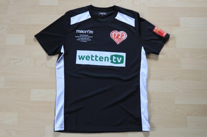 Tusche, Karim & Freunde, Nr. 9 Reichenberger (Matchworn Abschiedsspiel gg Union Berlin 02.09.17)