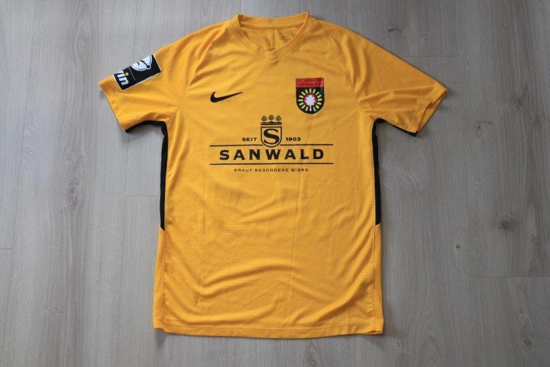 SG Sonnenhof Großaspach 2019/20 Away , Nr. 14 Krasniqi (Matchworn)