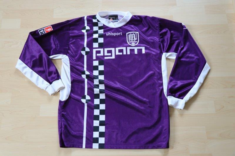 VfL Osnabrück 2003/04 Away Langarm mit Autogramm, Nr. 19 Dzaka