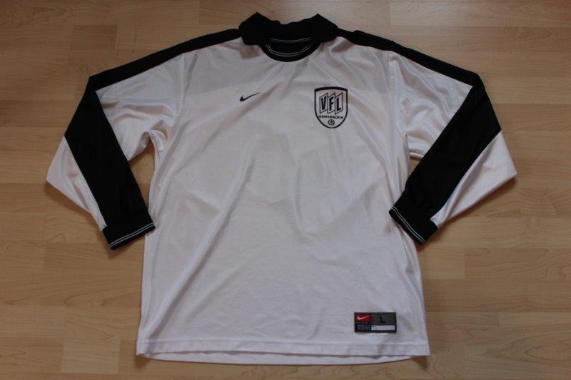 VfL Osnabrück 2000/01 Away Langarm, ohne Sponsor, Nr. 3 (eventuell Jugend und Matchworn)