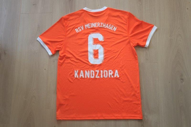 RSV Meinerzhagen 2019/20 Sondertrikot, Nr. 6 Kandziora (Matchvorbereitet für den Schauinsland-Reisen-Cup 2020)