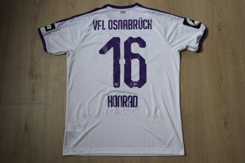 VfL Osnabrück 18-19 Away, Nr. 16 Konrad (Matchworn gg. Uerdingen 14.04.19)