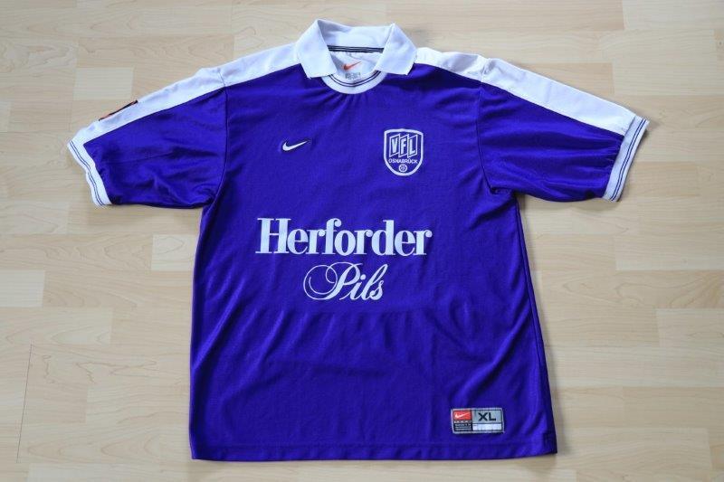 VfL Osnabrück 2000/01 Heim, Nr. 8 Enochs (Matchworn)