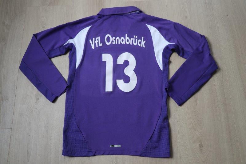 VfL Osnabrück 2007/08 Heim Jugend Langarm, Nr. 13 (Matchworn)