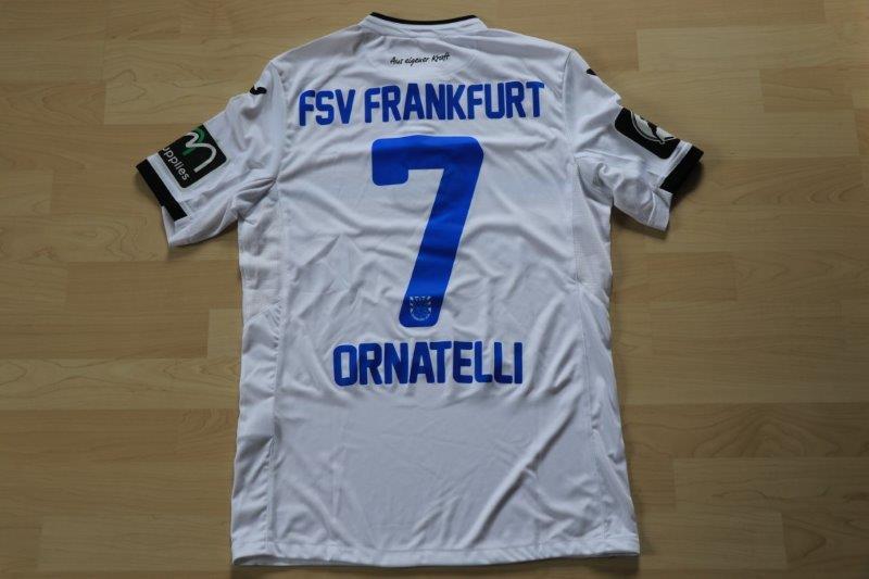FSV Frankfurt 2016/17 Away, Nr. 7 Ornatelli (Matchworn, gg. Großaspach 04.03.17)