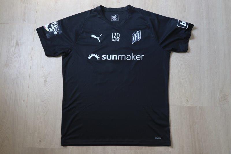 "VfL Osnabrück 2018/19 Sondertrikot ""120 Jahre VfL Osnabrück"" signiert, Nr. 14 Amenyido (Matchworn gg. Aalen 20.04.19)"