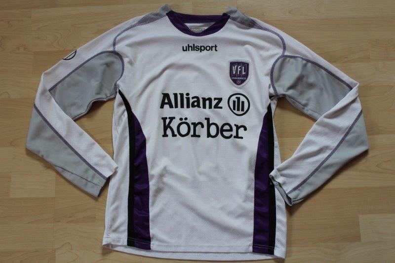 VfL Osnabrück 2006/07 Langarm, VFL Osnabrück II, Nr. 3 Dominic Pieper (Matchworn)