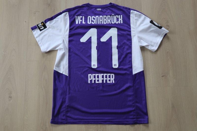 VfL Osnabrück 2018/19 Heim, Nr. 11 Pfeiffer (Matchworn gg. Jena 16.03.19)