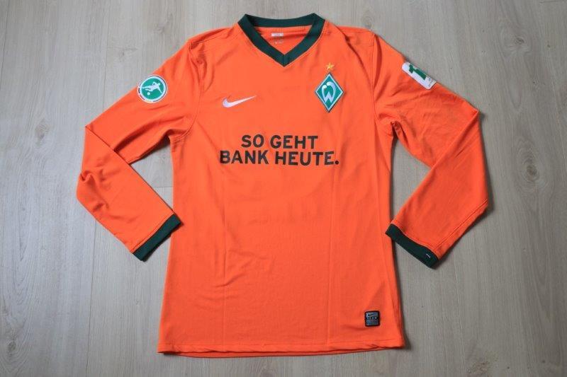 SV Werder Bremen II 09-10 Away 111 Jahre Sonderpatch, Nr. 43 Testroet (Matchvorbereitet)