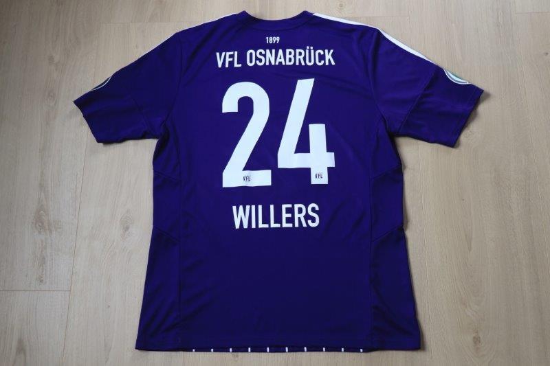 VfL Osnabrück 2015/16 Heim DFB-Pokal, Nr. 24 Willers