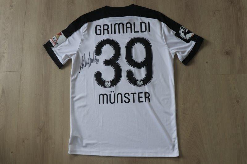 SC Preußen Münster 2016/17 Away, Nr. 39 Grimaldi (Matchworn)