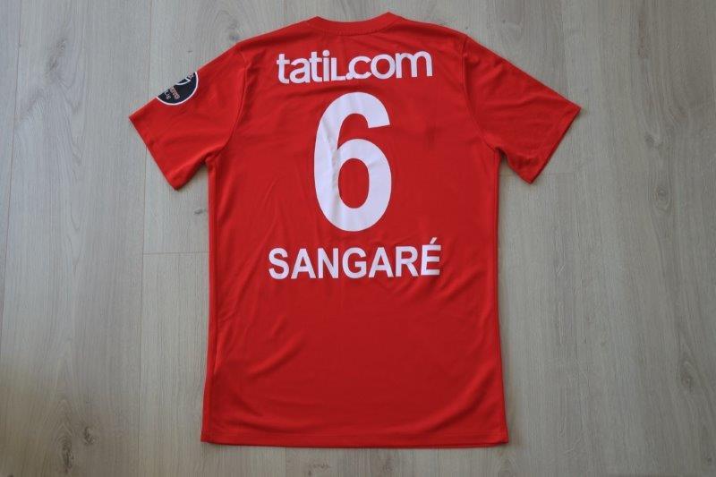 Antalyaspor 2017/18 Third, Nr. 6 Sangaré (Matchworn)