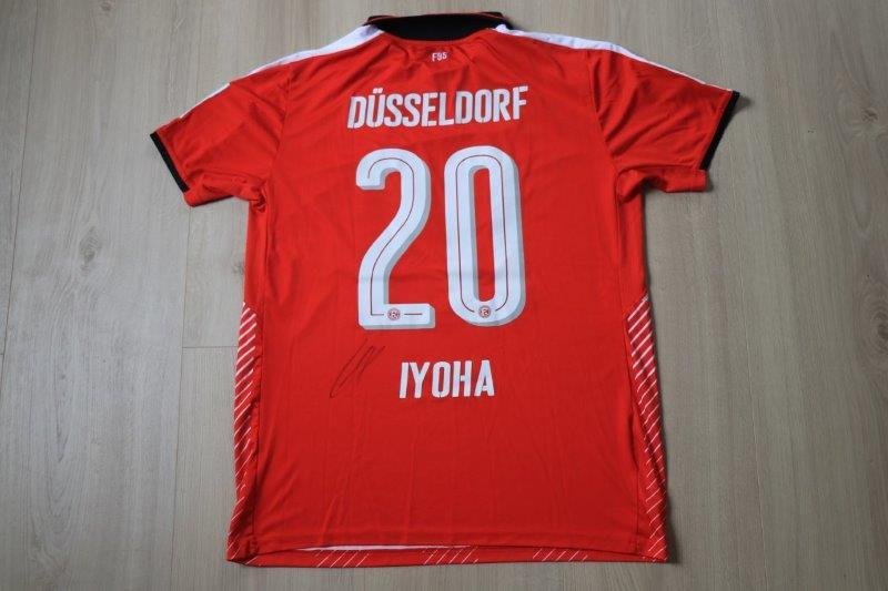Fortuna Düsseldorf 2016/17 Away, Nr. 20 Iyoha (Matchworn)