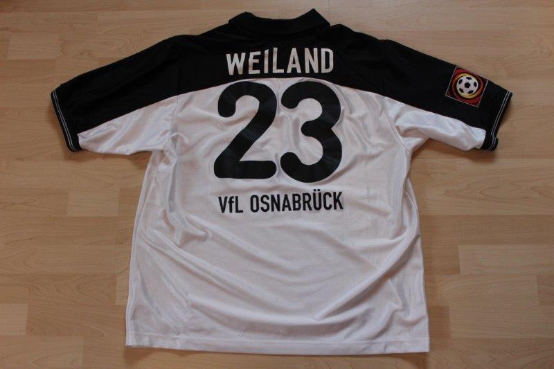 VfL Osnabrück 2000/01 Away Fantrikot Kurzarm, Nr. 23 Weiland