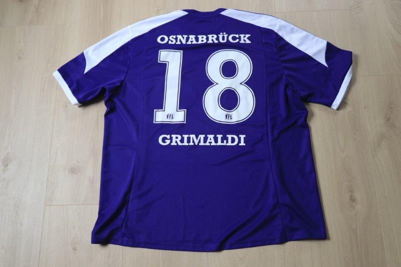 VfL Osnabrück 2013/14 Heim, Nr. 18 Grimaldi