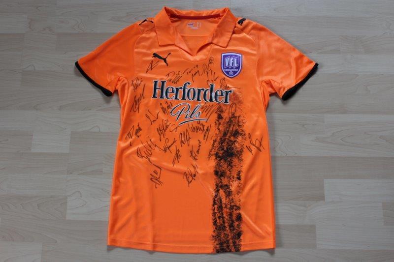 VfL Osnabrück 2008/09 Third, Nr. 9 Reichenberger mit Autogrammen