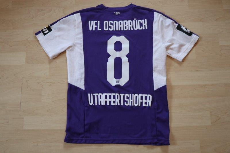 VfL Osnabrück 2018/19 Heim, Nr. 8 Taffertshofer (Matchworn gg. Kaiserslautern 06.10.18