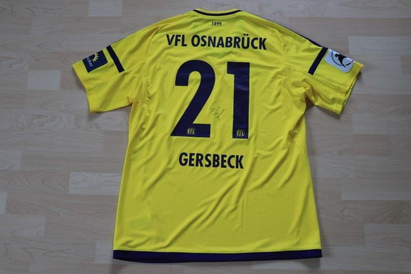 VfL Osnabrück 2017/18 Torwart mit Autogramm, Nr. 21 Gersbeck