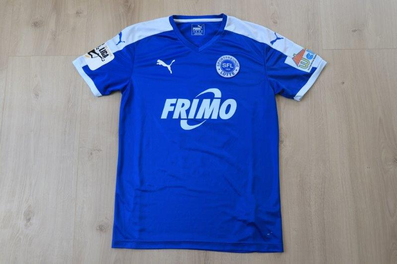Sportfreunde Lotte 17-18 Away, Nr. 15 Heyer (Matchworn)