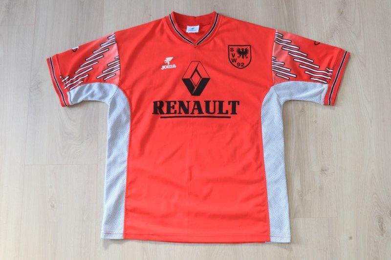 SV Wilhelmshaven 1999/00 Away signiert, Nr. 6 Ukrow (Matchworn)